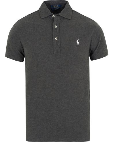 Polo Ralph Lauren Featherweight Mesh Polo Bristol Heather i gruppen Pik�er / Kortermet Pik� hos Care of Carl (13193211r)