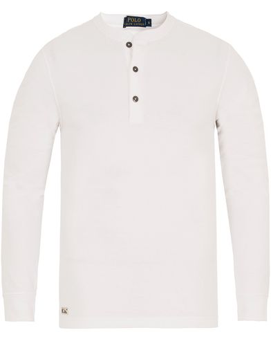 Polo Ralph Lauren Henley White i gruppen Gensere / Bestefartrøyer hos Care of Carl (13193311r)