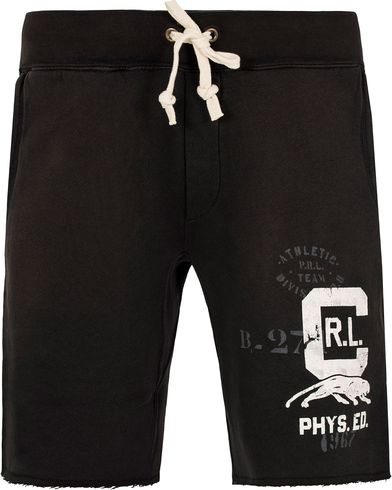 Polo Ralph Lauren RL Short Sweatpants Polo Black i gruppen Shorts / Träningsshorts hos Care of Carl (13193811r)