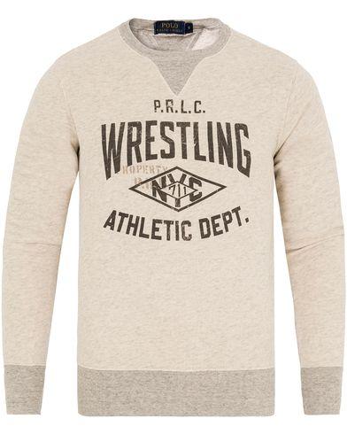 Polo Ralph Lauren Wrestling Sweatshirt Newport Heather i gruppen Kläder / Tröjor / Sweatshirts hos Care of Carl (13194011r)