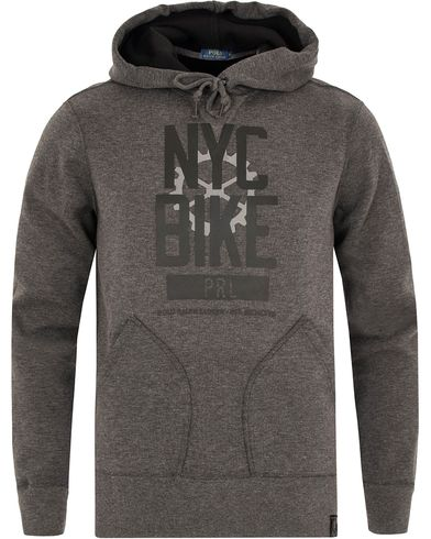 Polo Ralph Lauren N.Y.C Bike Sweatshirt Fortrest Heather i gruppen Tr�jor / Huvtr�jor hos Care of Carl (13194311r)