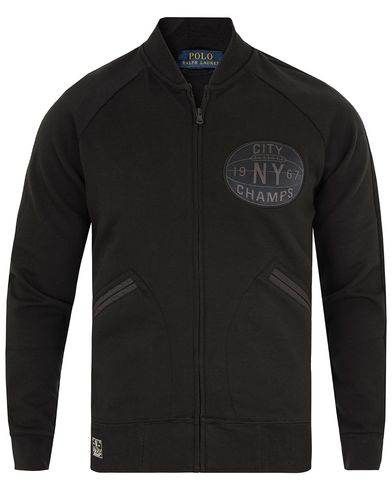 Polo Ralph Lauren Full Zip Sweatshirt Polo Black i gruppen Tröjor / Zip-tröjor hos Care of Carl (13194511r)