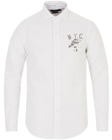 Polo Ralph Lauren Slim Fit N.Y.C Shirt White i gruppen Skjorter / Oxfordskjorter hos Care of Carl (13194911r)