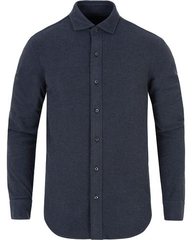 Polo Ralph Lauren Slim Fit Cut Away Knitted Shirt Winter Navy i gruppen Kläder / Skjortor / Pikéskjortor hos Care of Carl (13195211r)