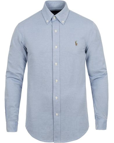 Polo Ralph Lauren Oxford Knit Shirt Harbour Island i gruppen Skjorter / Pikéskjorter hos Care of Carl (13196811r)