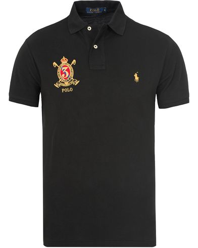 Polo Ralph Lauren Core Fit Crest Polo Shirt Polo Black i gruppen Pikéer / Kortermet piké hos Care of Carl (13199911r)