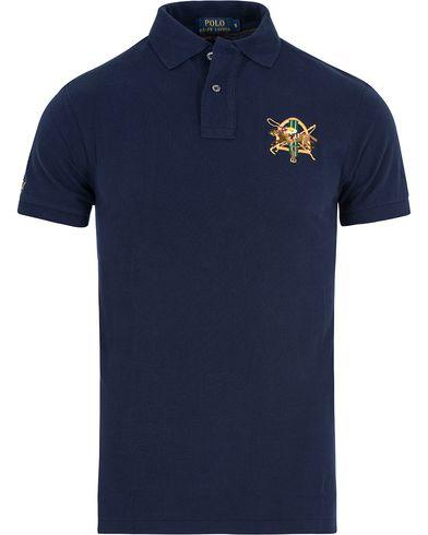 Polo Ralph Lauren Core Fit Crest Polo Shirt French Navy i gruppen Pikéer / Kortärmade pikéer hos Care of Carl (13200211r)
