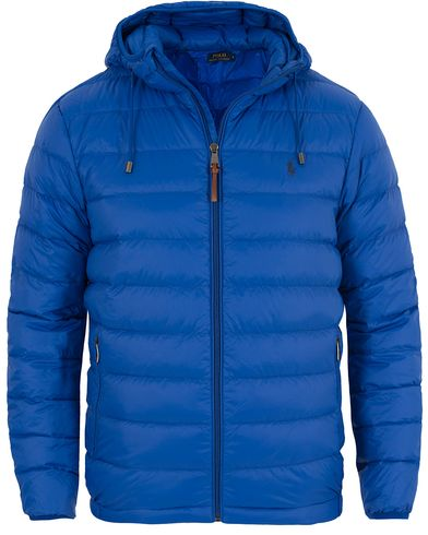 Polo Ralph Lauren Lightweight Down Jacket Saphire Star i gruppen Jakker / Vatterte Jakker hos Care of Carl (13201711r)
