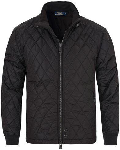 Polo Ralph Lauren Radar Quilted Jacket Polo Black i gruppen Jackor / Quiltade Jackor hos Care of Carl (13202511r)