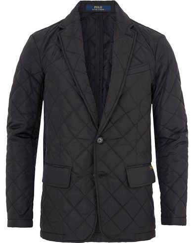 Polo Ralph Lauren Quilted Sportcoat Polo Black i gruppen Jakker / Quiltede jakker hos Care of Carl (13202711r)