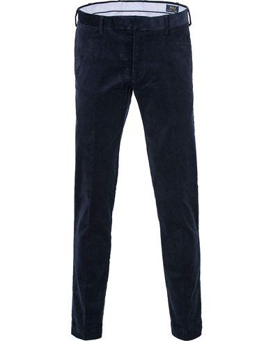 Polo Ralph Lauren Hudson Slim Fit Corduroy Pants Worth Navy i gruppen Kläder / Byxor / Manchesterbyxor hos Care of Carl (13203211r)