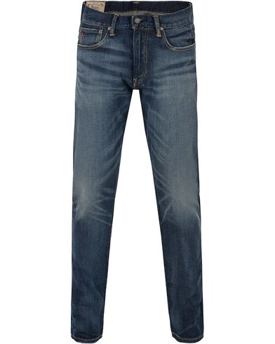 Polo Ralph Lauren Sullivan Slim Fit Jeans Davis Blue i gruppen Jeans / Smala jeans hos Care of Carl (13204511r)