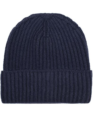 Polo Ralph Lauren Cashmere Cap Hunter Navy  i gruppen Accessoarer / M�ssor hos Care of Carl (13206710)