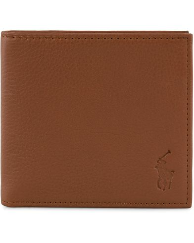 Polo Ralph Lauren Billfold Leather Wallet Cuoio Brown  i gruppen Assesoarer / Lommebøker / Vanlige lommebøker hos Care of Carl (13209010)
