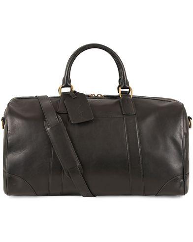 Polo Ralph Lauren Duffle Leatherbag Black  i gruppen Vesker / Weekendbager hos Care of Carl (13209210)