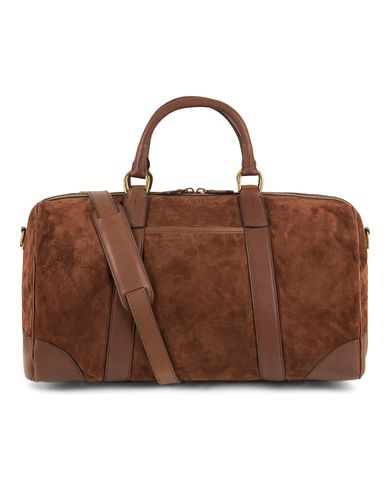 Polo Ralph Lauren Duffle Suedebag Brown  i gruppen Accessoarer / Väskor / Weekendbags hos Care of Carl (13209310)