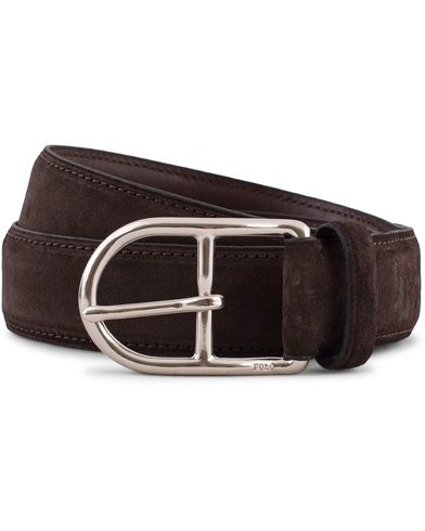 Polo Ralph Lauren Suede Belt Mahogany Brown i gruppen Assesoarer / Belter hos Care of Carl (13210211r)