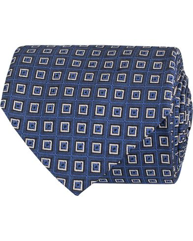 Polo Ralph Lauren Spitalfields Square Tie Blue  i gruppen Accessoarer / Slipsar hos Care of Carl (13210810)
