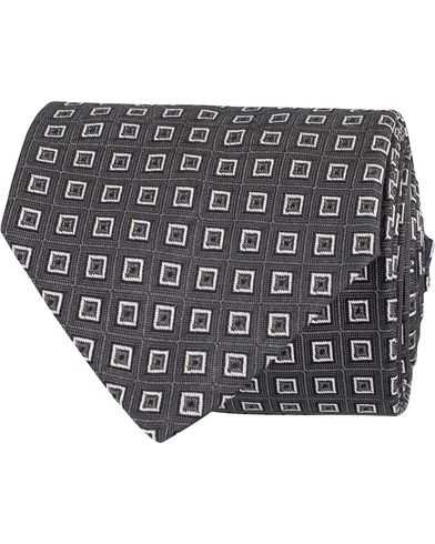 Polo Ralph Lauren Spitalfields Square Tie Charcoal  i gruppen Assesoarer / Slips hos Care of Carl (13210910)