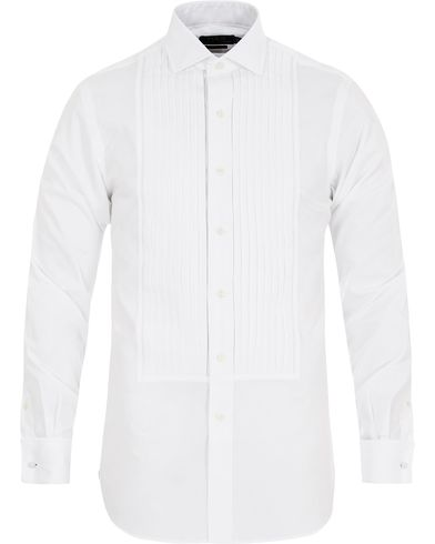 Polo Ralph Lauren Slim Fit Estate Tuxedo Shirt White i gruppen Klær / Skjorter / Smokingskjorter hos Care of Carl (13212211r)
