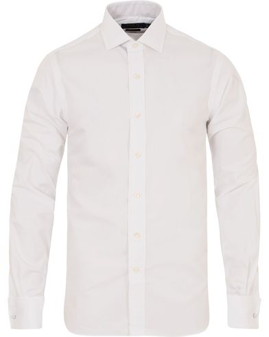 Polo Ralph Lauren Slim Fit Estate Double Cuff Shirt White i gruppen Skjortor / Formella skjortor hos Care of Carl (13212311r)