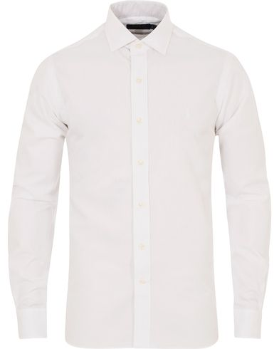 Polo Ralph Lauren Custom Fit Estate Shirt White i gruppen Kläder / Skjortor / Formella skjortor hos Care of Carl (13212411r)
