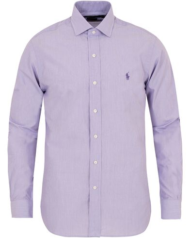 Polo Ralph Lauren Slim Fit Estate Shirt Purple i gruppen Design A / Skjorter / Formelle skjorter hos Care of Carl (13212711r)