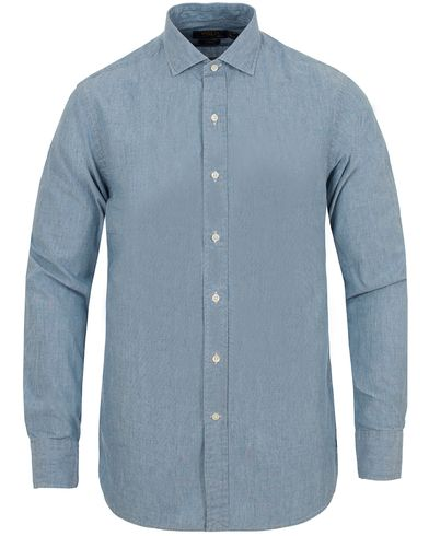Polo Ralph Lauren Slim Fit Estate Dress Shirt Chambray i gruppen Kläder / Skjortor / Jeansskjortor hos Care of Carl (13212911r)