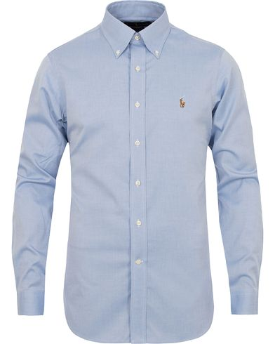 Polo Ralph Lauren Slim Fit Button Down Shirt Light Blue i gruppen Kläder / Skjortor / Formella skjortor hos Care of Carl (13213211r)