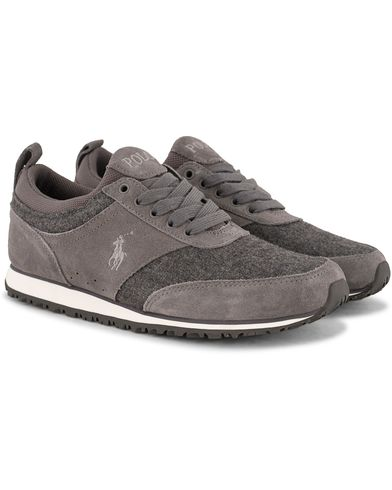Polo Ralph Lauren Ponteland Sneaker Grey Fleece i gruppen Sko / Sneakers / Running sneakers hos Care of Carl (13213511r)