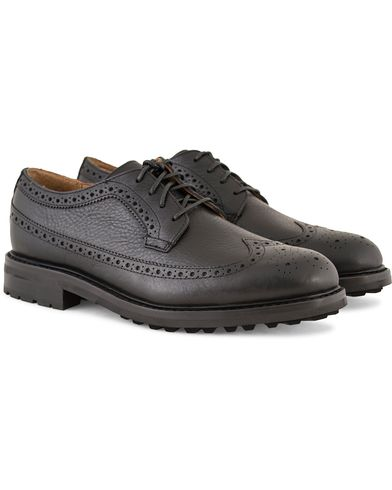 Polo Ralph Lauren Nyles Brouge Derby Black i gruppen Skor / Brogues hos Care of Carl (13213711r)