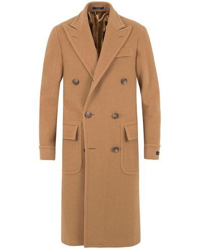 Polo Ralph Lauren Clothing Camelhair Top Coat Camel i gruppen Klær / Jakker / Vinterjakker hos Care of Carl (13214011r)