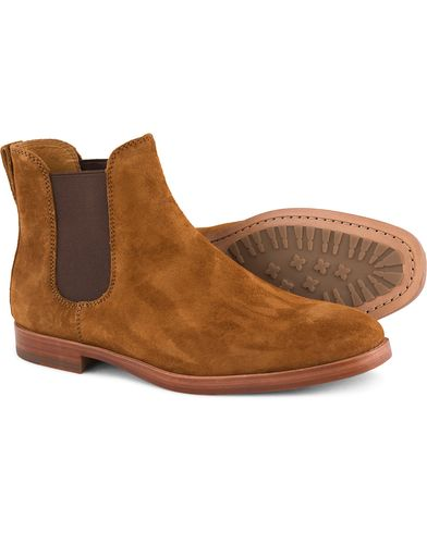 Polo Ralph Lauren Dillian 2 Chelsea Boot Snuff Suede i gruppen Skor / Kängor / Chelsea boots hos Care of Carl (13214411r)