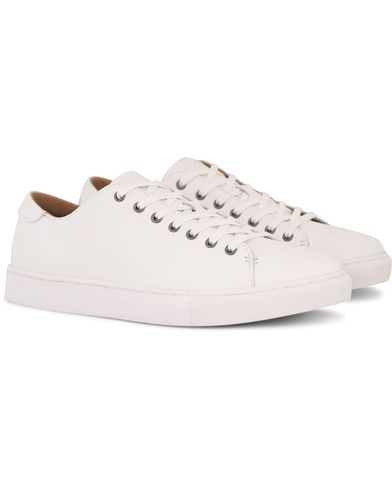 Polo Ralph Lauren Jermain Sneaker White Leather i gruppen Sko / Sneakers hos Care of Carl (13214811r)