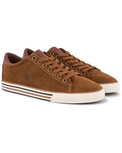 Polo Ralph Lauren Harvey Sneaker New Snuff Suede i gruppen Sko / Sneakers / Sneakers med lavt skaft hos Care of Carl (13215311r)
