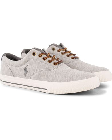 Polo Ralph Lauren Vaughn Sneaker Light Grey Heather i gruppen Skor / Sneakers hos Care of Carl (13215811r)