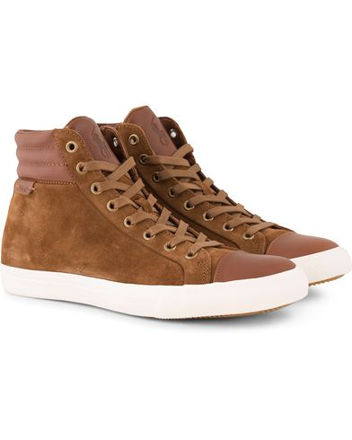 Polo Ralph Lauren Geffron Mid Sneaker Snuff/Polo Tan i gruppen Sko / Sneakers hos Care of Carl (13216311r)