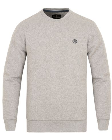 Henri Lloyd Bredgar Crew Neck Sweat Grey Marl i gruppen Klær / Gensere / Sweatshirts hos Care of Carl (13216611r)