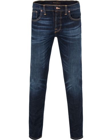 Nudie Jeans Grim Tim Organic Slim Fit Stretch Jeans Sparkles i gruppen Klær / Jeans / Smale jeans hos Care of Carl (13219111r)