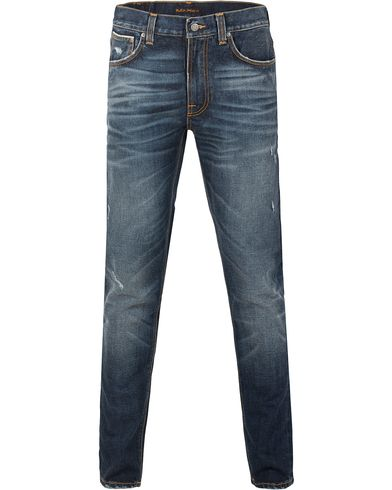 Nudie Jeans Lean Dean Organic Slim Fit Stretch Jeans Selvage i gruppen Jeans / Avsmalnande jeans hos Care of Carl (13219311r)