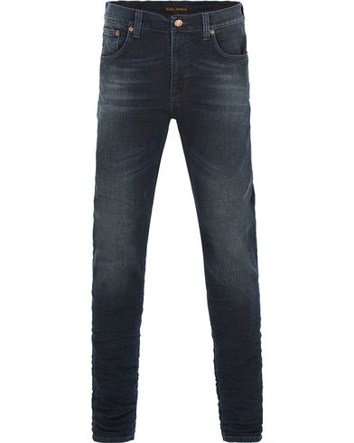 Nudie Jeans Lean Dean Organic Slim Fit Stretch Jeans Sparkle i gruppen Jeans / Avsmalnande jeans hos Care of Carl (13219411r)