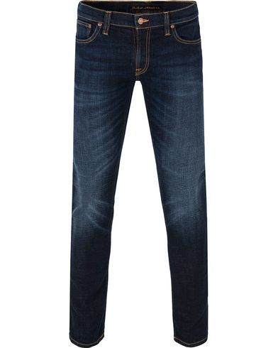 Nudie Jeans Long John Organic Slim Fit Stretch Jeans Sparkles i gruppen Klær / Jeans / Smale jeans hos Care of Carl (13220211r)
