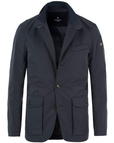 Hackett Painswick Blazer Jacket Navy i gruppen Jakker / Tynne jakker hos Care of Carl (13220511r)