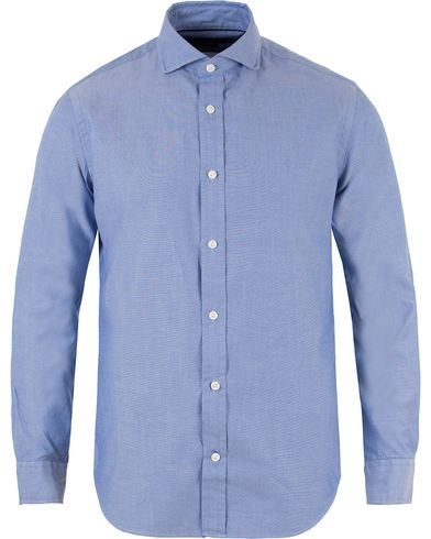 Polo Ralph Lauren Cut Away Oxford Shirt Blue i gruppen Skjortor / Oxfordskjortor hos Care of Carl (13220911r)