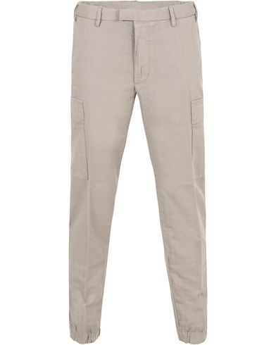 Polo Ralph Lauren Cargo Linen/Twill Jogger Pants Soft Grey i gruppen Bukser / Chinos hos Care of Carl (13222111r)