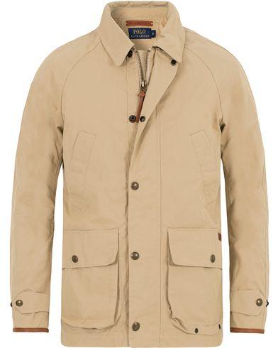 Polo Ralph Lauren Banton Tech Gab Jacket Classic Khaki i gruppen Jackor / Tunna jackor hos Care of Carl (13222311r)