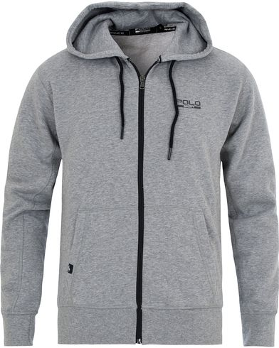 Polo Sport Ralph Lauren Full Zip Hoodie Andover Heather i gruppen Tröjor / Huvtröjor hos Care of Carl (13223211r)