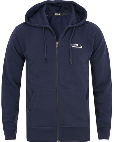 Polo Sport Ralph Lauren Full Zip Hoodie French Navy i gruppen Gensere / Hettegensere hos Care of Carl (13223311r)