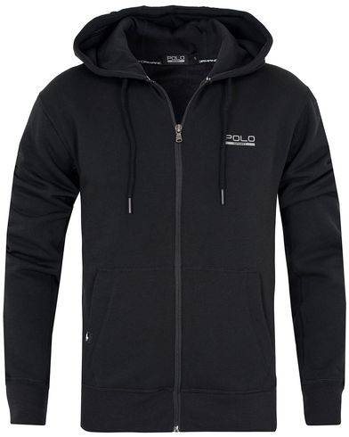 Polo Sport Ralph Lauren Full Zip Hoodie Polo Black i gruppen Kläder / Tröjor / Huvtröjor hos Care of Carl (13223411r)