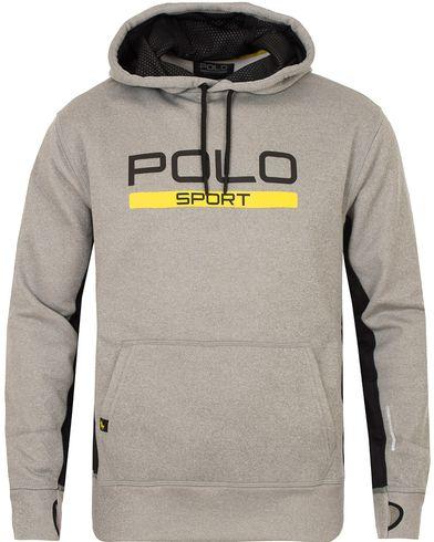 Polo Sport Ralph Lauren Performance Hooded Sweater Andover Heather i gruppen Tröjor / Huvtröjor hos Care of Carl (13223611r)